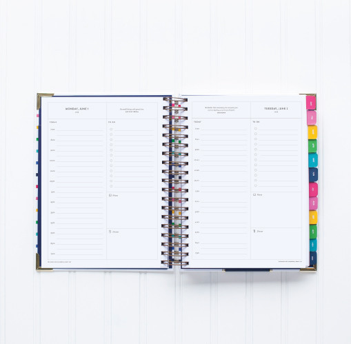 Emily Ley 2015 Simplified Planner Open View