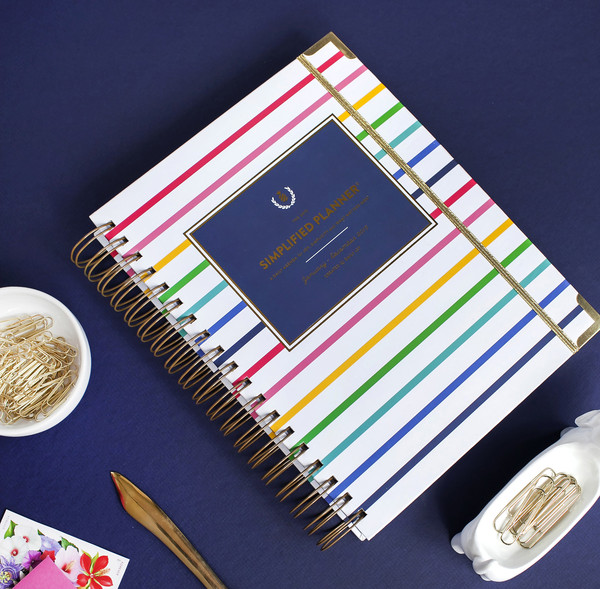 Emily Ley 2015 Simplified Planner in Happy Stripes
