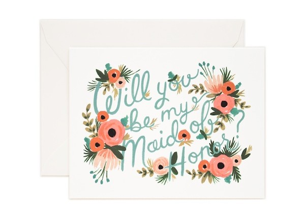 Rifle Paper Co Will you be my maid of honor card
