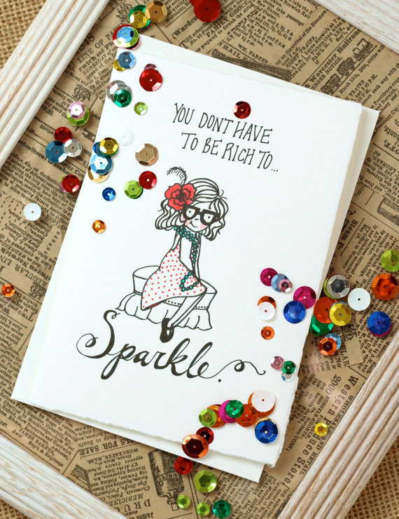Don't Have to Be Rich to Sparkle