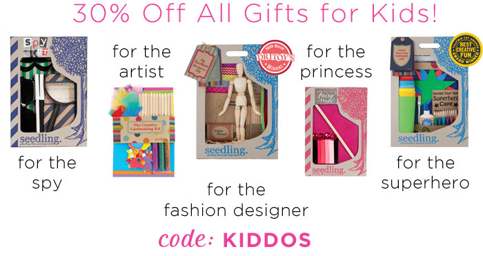 30% off cute kids valentine's gifts!