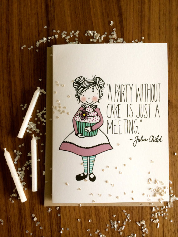 Party Without Cake Julia Childs