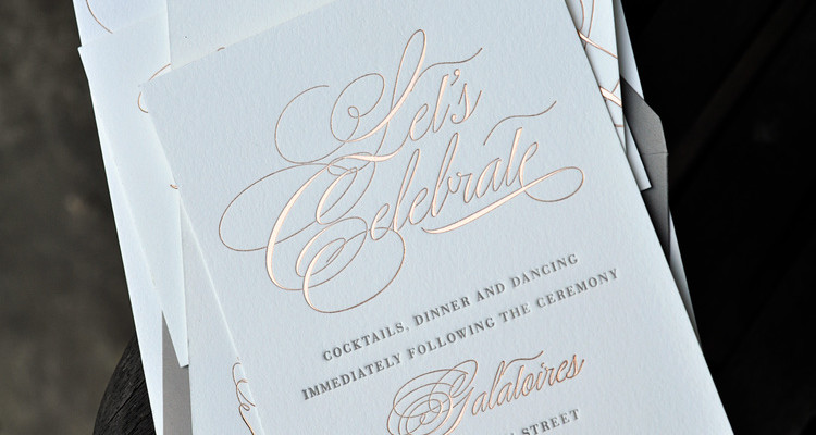 Custom Invitations And Stationery Paper Luxe Stationery Gifts