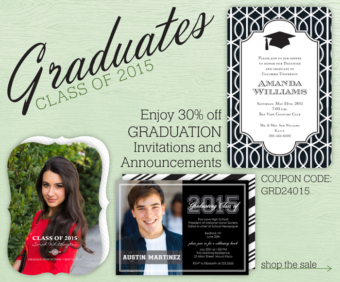 graduation announcement sale tacoma