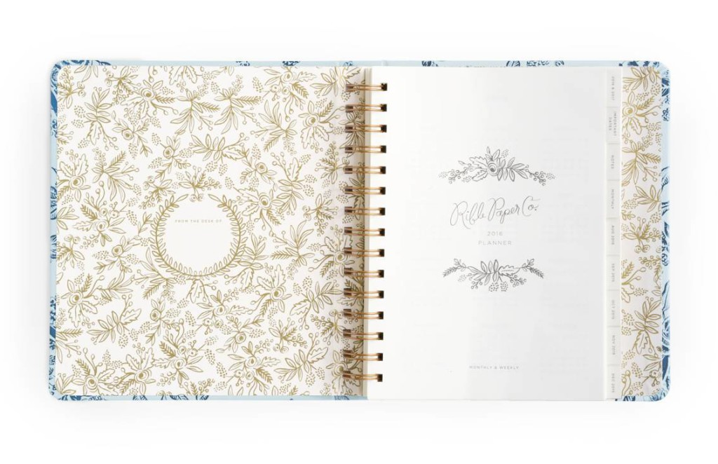 Rifle paper co planners are here paper luxe stationery for Planner co