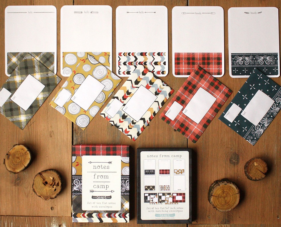 Notes from Camp Stationery Set