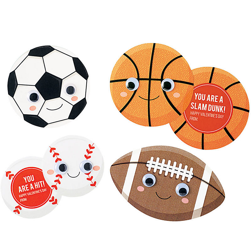 All Star Sports Valentine's Day Craft Kit