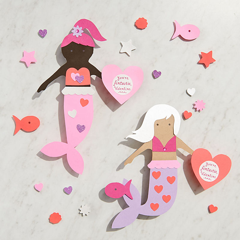 Mermaids Valentine's Day Craft Kits