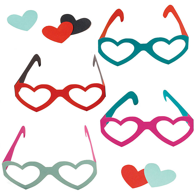 Spectacular Glasses Valentine's Day Craft Kit
