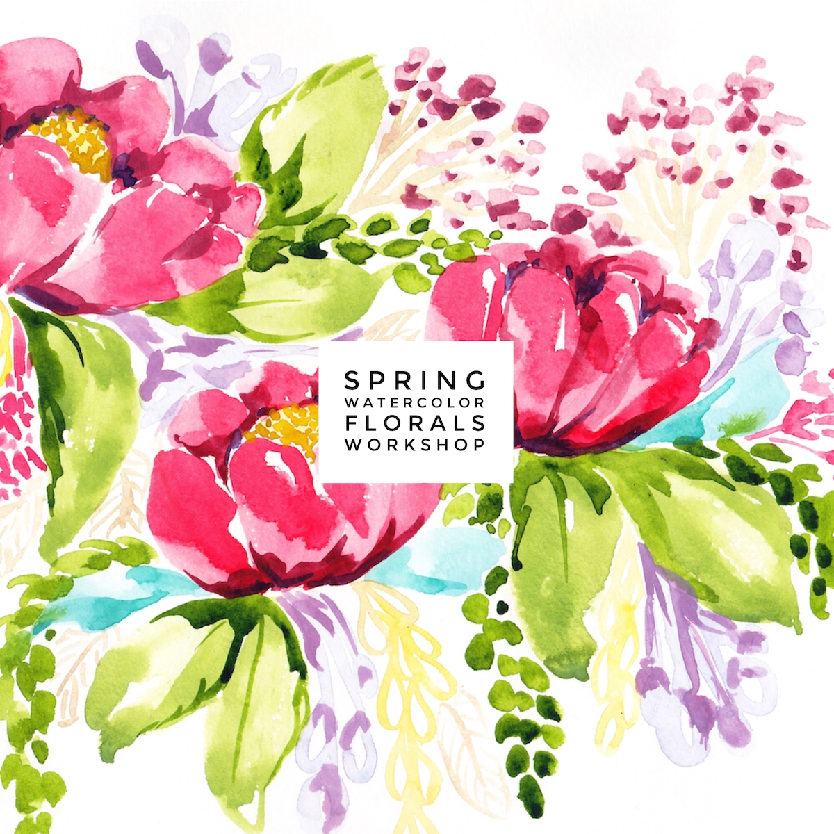 spring-watercolor-florals