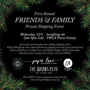 Paper Luxe Friends & Family Shopping