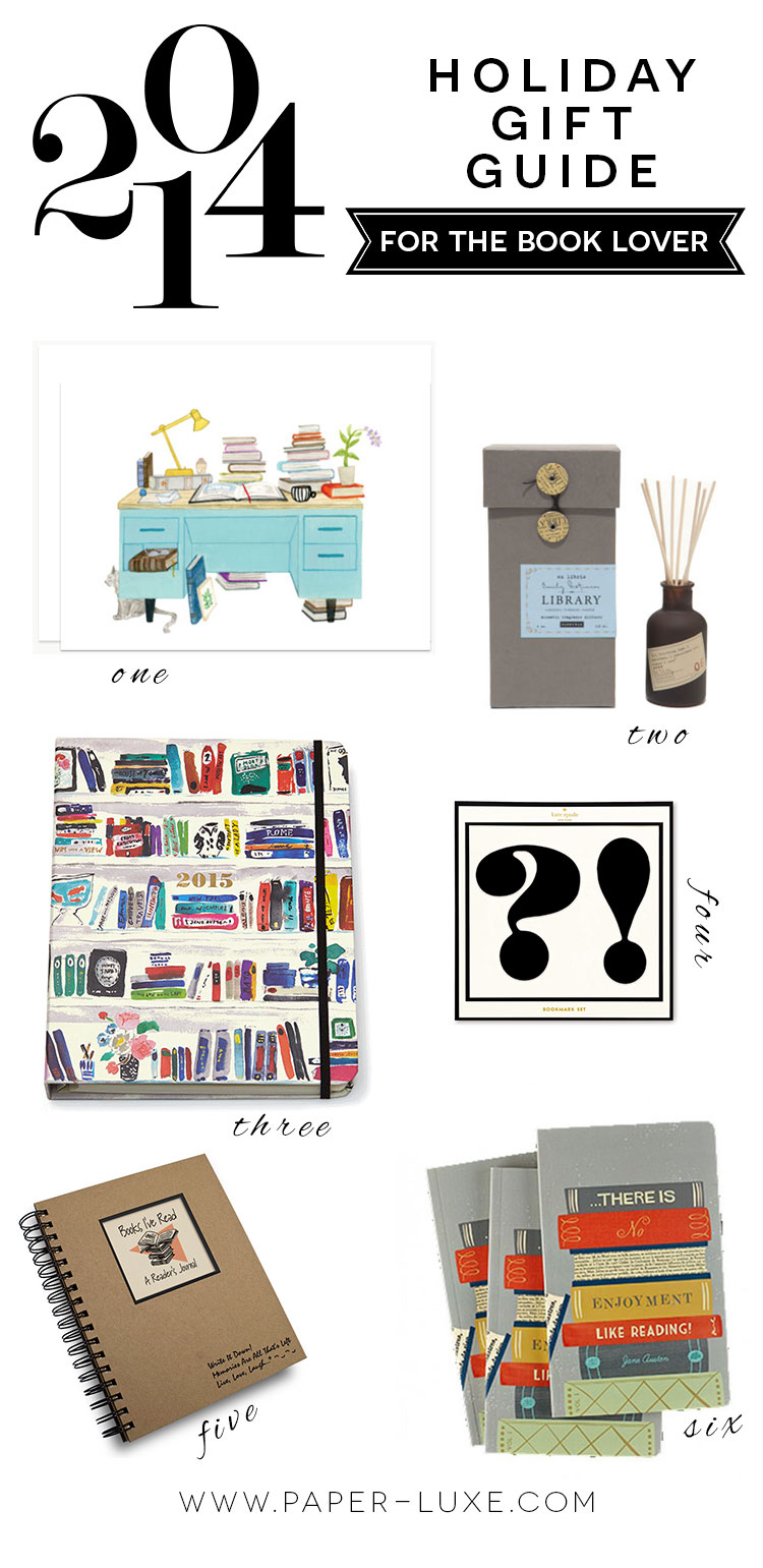gifts for book lovers gift guide for book paper luxe stationery 29840