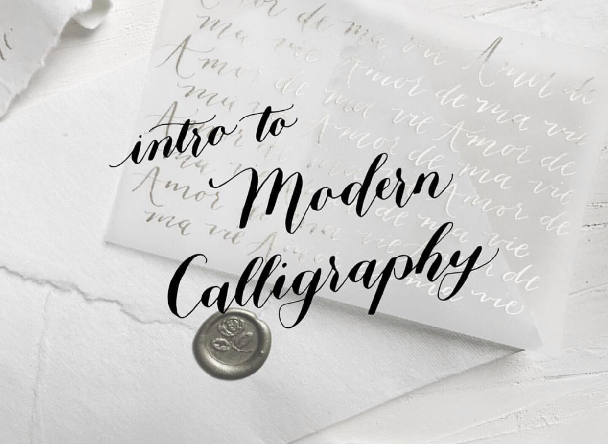 Intro to Modern Calligraphy Tacoma